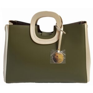Smooth Ruga Leather Tote (B111)