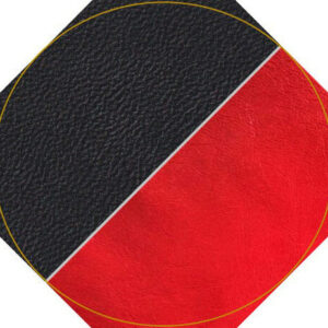 Nappa Black Red Leather Combo1